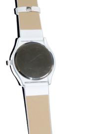 Minion Horloge met witte band