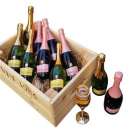 Eau de Parfum model champagne glas for Women Edition Rose