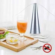 Vliegen ventilator zilver Mosquito Fly fan