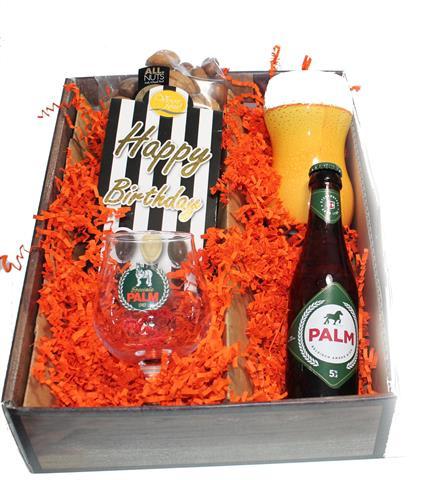 Bierpakket Palm Happy Birthday