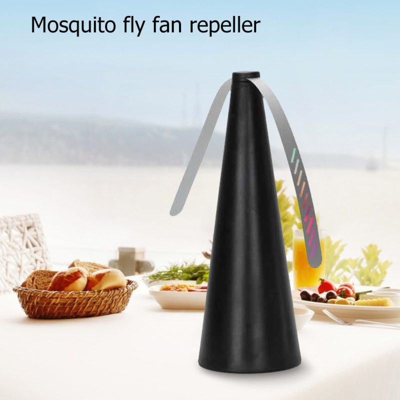 Vliegen verjager ventilator Fly away zwart Mosquito Fly fan