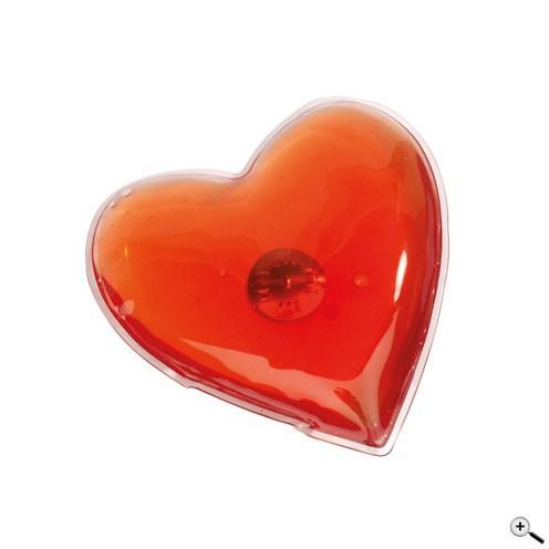 Warmtekussentje in Hartvorm