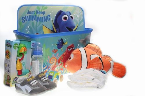 Geboorte geschenkpakket Finding Nemo