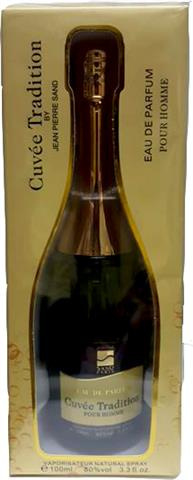 Cuvee Tradition eau de Parfum model champagne by Jean Pierre sand