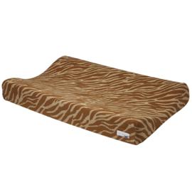 Aankleedkussenhoes | Zebra Camel | Meyco