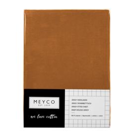 Hoeslaken kinderbed | Camel | Meyco