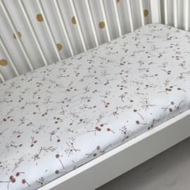 Hoeslaken co-sleeper | Dandelions