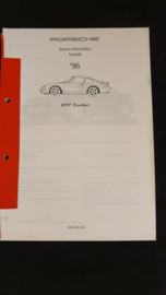 Porsche 911 993 Turbo Service Information Technik - 1996