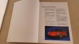 Porsche Boxster S and Boxster 2,7L Technik Kompendium - 1999