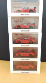 Porsche 911 (991) GT3 RS Lava Orange - Special limited edition