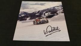 Porsche Rally Cayman - Signature Walter Röhrl