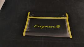 Porsche Cayman R hardcover brochure in VIP folder - 2010