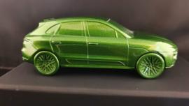 Porsche Macan Turbo 2020  Mambagroen metallic - Presse Papier