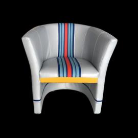 Porsche cabriolet chair Martini n° 4 racing design