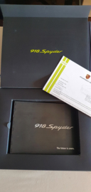 Porsche 918 Spyder - Metal promotional ringmap complete brochure package 2013 USA Edition