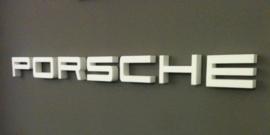 Porsche - styrofoam letters