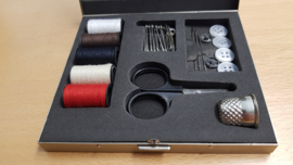Porsche Retro Travelset-Sewing kit