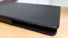 Housse tablette Porsche Design pour Ipad Mini - Cuir noir