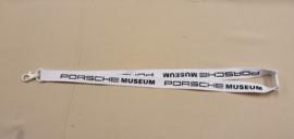 Porsche Museum Schlüsselband - Weiß