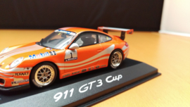 Porsche 911 997 GT3 Cup Präsentation Supercup VIP Nr 1 2005 - Minichamps