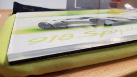 Porsche 918 Spyder Design sketch - VIP Owner Box 2012