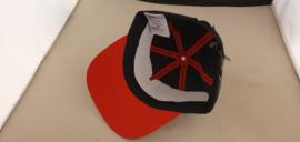 Porsche Casquette de baseball noir/rouge avec logo en caoutchouc - WAP4900100J