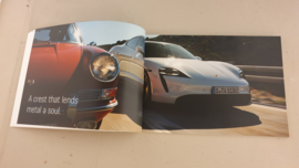 Porsche Taycan brochure 2019