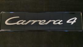 Porsche showroom Kentekenplaat - Carrera 4