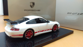 Porsche 911 (996) GT3 RS white red - 2003