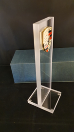 Porsche desktop glass pylon with logo - Porsche dealer edition
