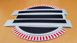 Porsche metalen presentatie opstelling modelauto schaal 1:43