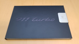 Porsche 911 991.2 Turbo hardcover brochure with clip