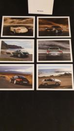 Porsche 911 997 Carrera et Cabrio cartes postales