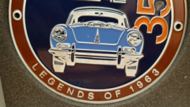 Grillbadge - Porsche 356 Legends of 1963 Porsche Design