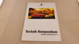 Porsche Boxster S en Boxster 2,7L Technik Kompendium - 1999