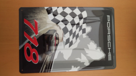 Porsche Boxster 718 muurschild