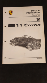 Porsche 911 964 Turbo Service Information Technik - 1991