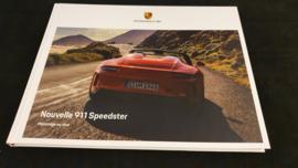 Porsche 911 991 Speedster Hardcover brochure 2019- French