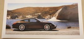 Porsche vouwkaarten 911 997 Carrera Coupe
