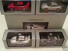 Porsche model cars scale 1:43 Set