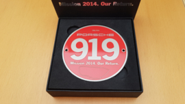 "Grillbadge - Porsche 919 Mission 2014 ""Our Return"""