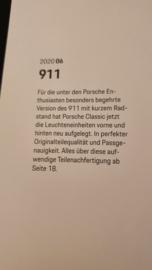 Cataloque des Pièces organiques Porsche Classic Oldtimer 2020 / 6