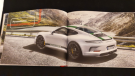 Porsche hardcover brochure 911R - French