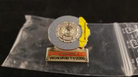 Porsche PCCB Workshop 11/2000 pin