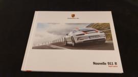 Porsche Hardcover Broschüre 911R - Französisch