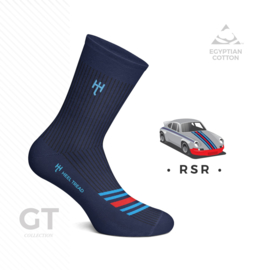 Porsche RSR GT Martini Racing - HEEL TREAD Socks