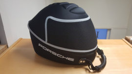Porsche Helmet Case black with gray band