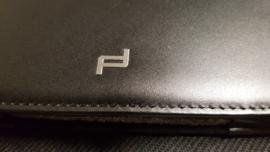Housse tablette Porsche Design pour Ipad Air 1 - Cuir noir