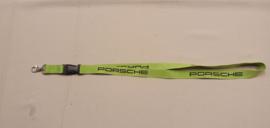 Porsche sleutelkoord - groen
