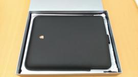 Leren beschermhoes iPad 3 - zwart